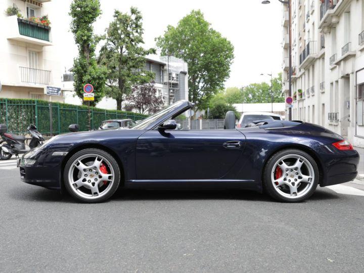 Porsche 997 CARRERA S 3.8 355CV CABRIOLET Bleu Nuit - 4