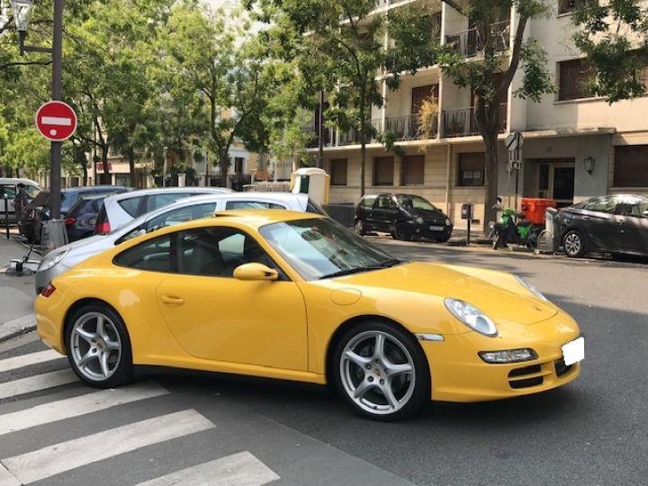 Porsche 997 PORSCHE 997 CARRERA 4 325CV ETAT NEUF Jaune - 3