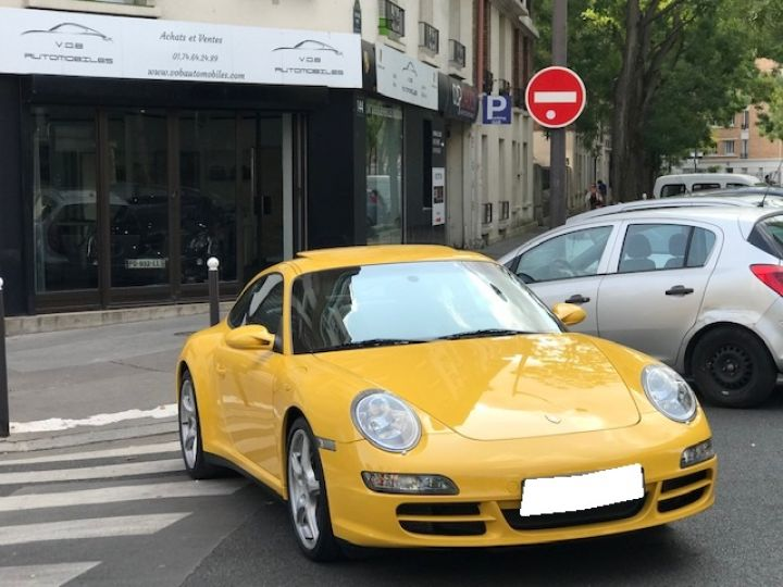 Porsche 997 PORSCHE 997 CARRERA 4 325CV ETAT NEUF Jaune - 5