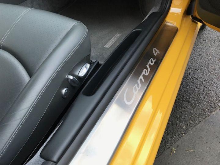 Porsche 997 PORSCHE 997 CARRERA 4 325CV ETAT NEUF Jaune - 17