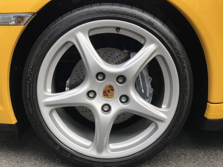 Porsche 997 PORSCHE 997 CARRERA 4 325CV ETAT NEUF Jaune - 11