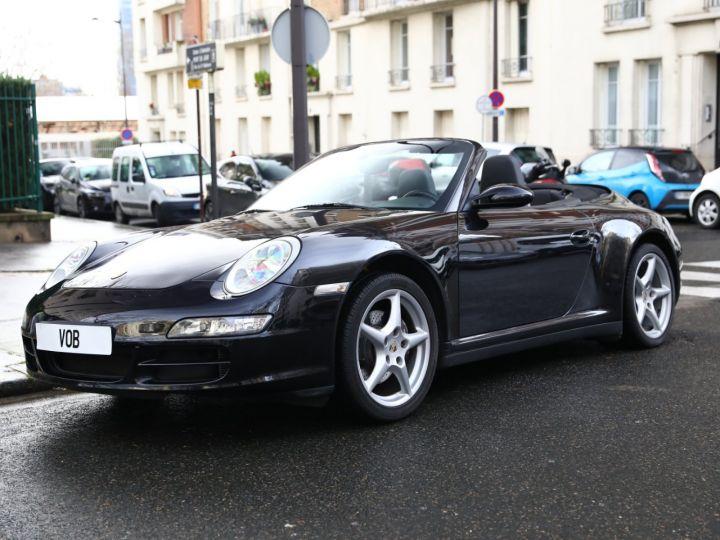 Porsche 997 PORSCHE 997 CARRERA 4 CABRIOLET PSE 1ERE MAIN Noir - 1