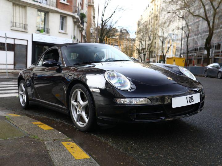 Porsche 997 PORSCHE 997 CARRERA 4 CABRIOLET PSE 1ERE MAIN Noir - 5