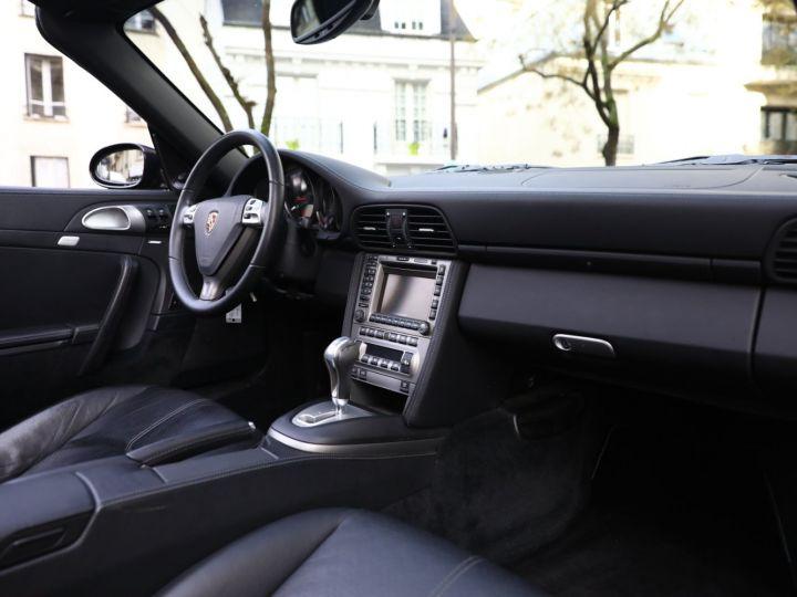 Porsche 997 PORSCHE 997 CARRERA 4 CABRIOLET PSE 1ERE MAIN Noir - 23