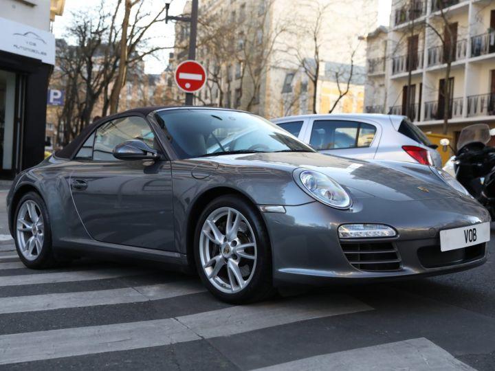 Porsche 997 PORSCHE 997 CARRERA 4 PDK CABRIOLET /FULL /PSE/ CHRONO 2011 Gris Meteor - 8