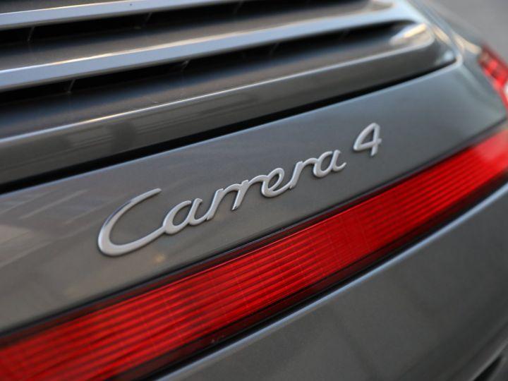 Porsche 997 PORSCHE 997 CARRERA 4 PDK CABRIOLET /FULL /PSE/ CHRONO 2011 Gris Meteor - 14