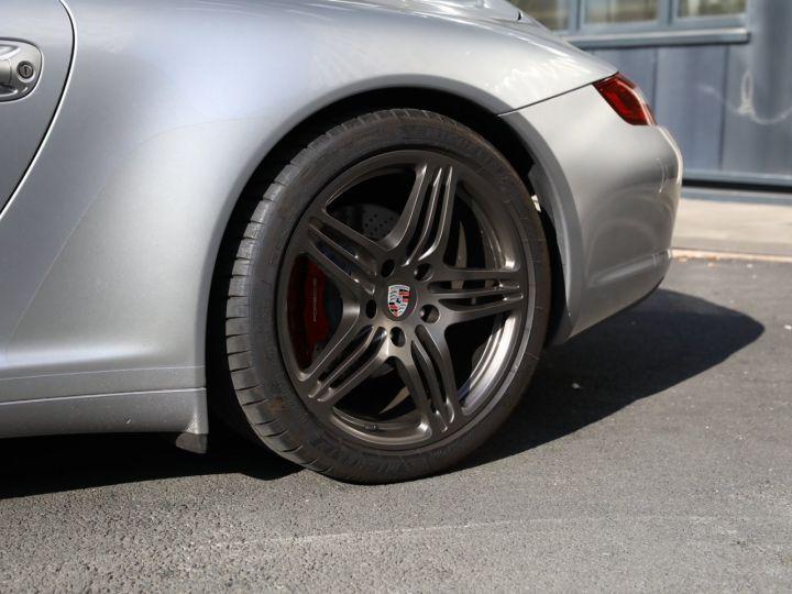 Porsche 997 PORSCHE 997 CARRERA 4S CABRIOLET BVM /CHRONO /ECHAPPEMENT / SUPERBE Gris Gt - 6