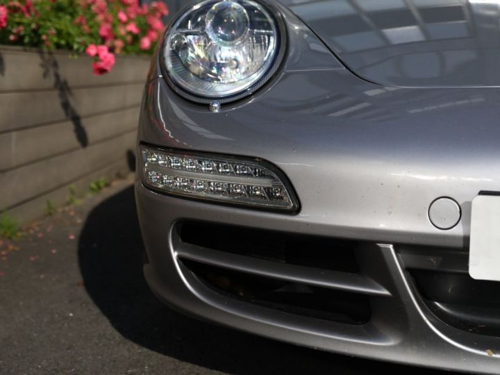 Porsche 997 PORSCHE 997 CARRERA 4S CABRIOLET BVM /CHRONO /ECHAPPEMENT / SUPERBE Gris Gt - 12