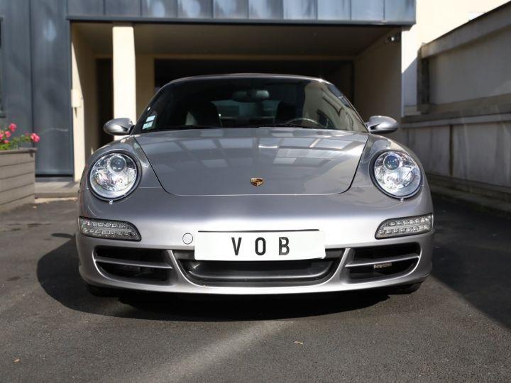 Porsche 997 PORSCHE 997 CARRERA 4S CABRIOLET BVM /CHRONO /ECHAPPEMENT / SUPERBE Gris Gt - 2