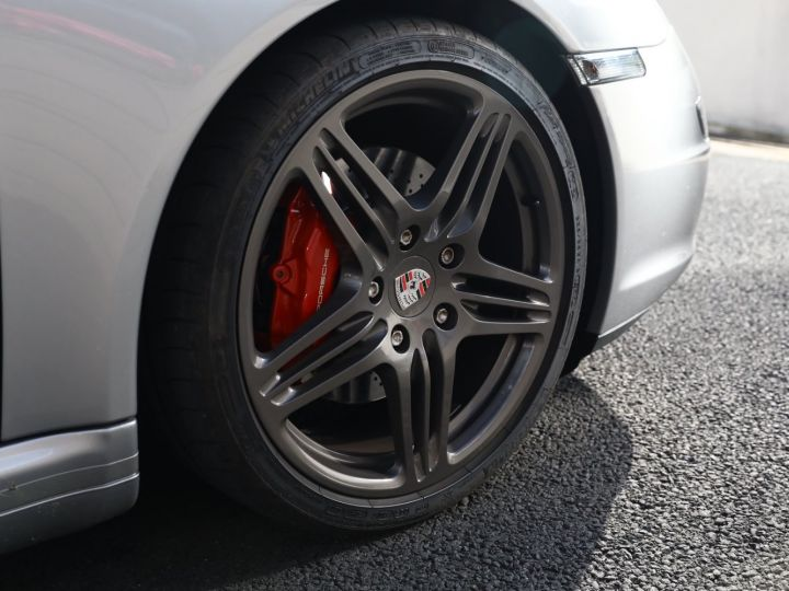 Porsche 997 PORSCHE 997 CARRERA 4S CABRIOLET BVM /CHRONO /ECHAPPEMENT / SUPERBE Gris Gt - 35