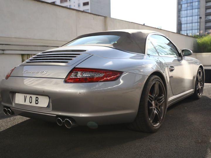 Porsche 997 PORSCHE 997 CARRERA 4S CABRIOLET BVM /CHRONO /ECHAPPEMENT / SUPERBE Gris Gt - 15