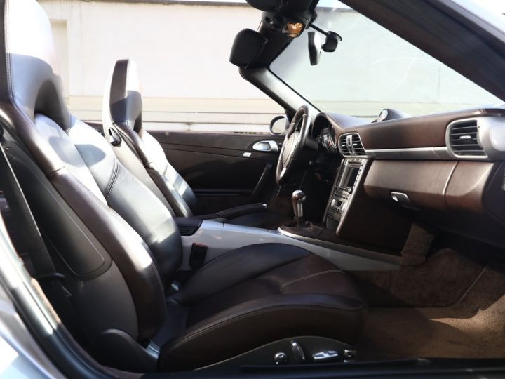 Porsche 997 PORSCHE 997 CARRERA 4S CABRIOLET BVM /CHRONO /ECHAPPEMENT / SUPERBE Gris Gt - 37