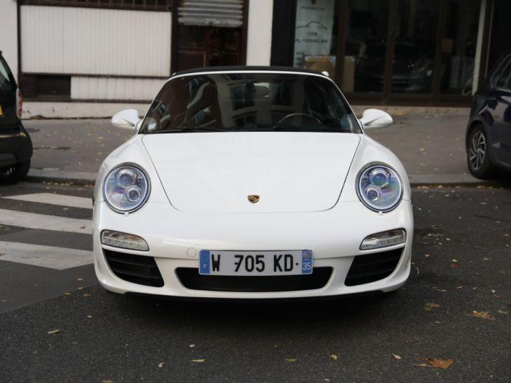 Porsche 997 PORSCHE 997 CARRERA 4S CABRIOLET DEPT EXCLUSIF Blanc - 11