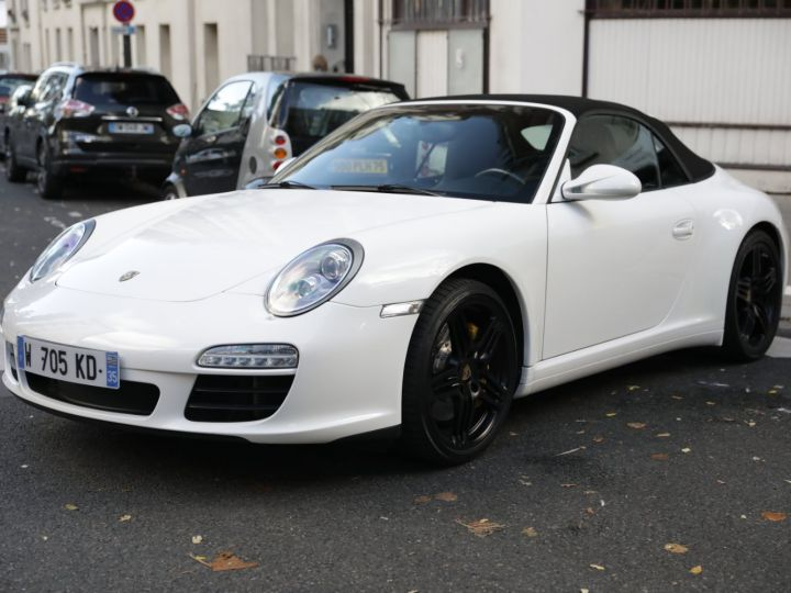Porsche 997 PORSCHE 997 CARRERA 4S CABRIOLET DEPT EXCLUSIF Blanc - 1