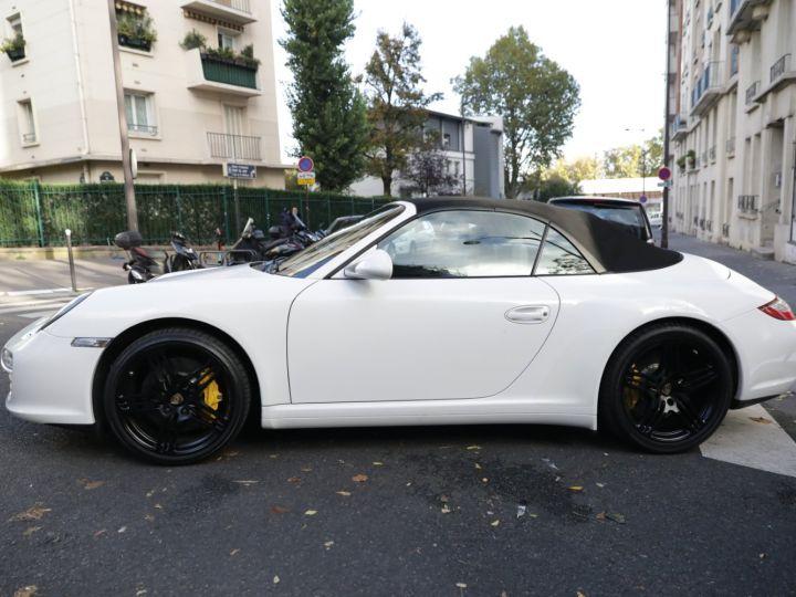 Porsche 997 PORSCHE 997 CARRERA 4S CABRIOLET DEPT EXCLUSIF Blanc - 5