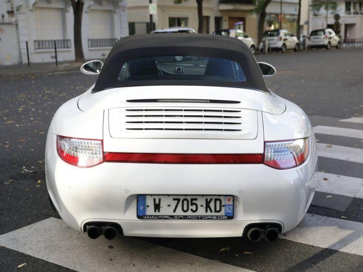 Porsche 997 PORSCHE 997 CARRERA 4S CABRIOLET DEPT EXCLUSIF Blanc - 4