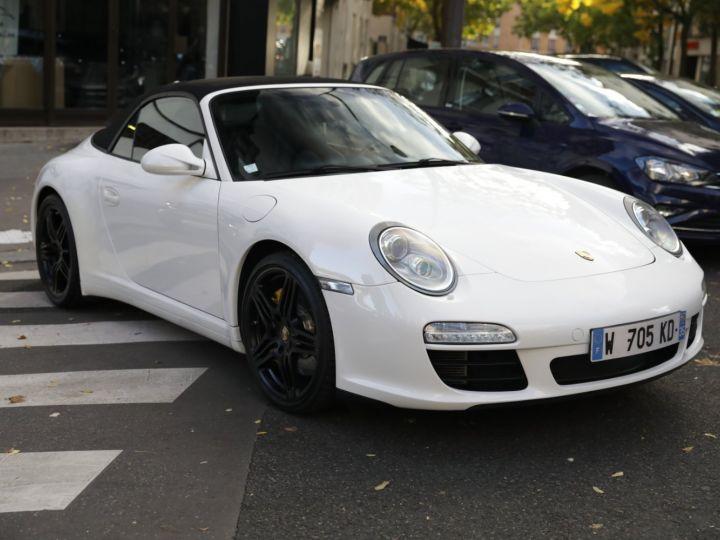 Porsche 997 PORSCHE 997 CARRERA 4S CABRIOLET DEPT EXCLUSIF Blanc - 9