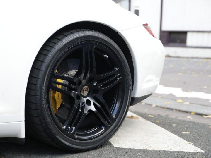 Porsche 997 PORSCHE 997 CARRERA 4S CABRIOLET DEPT EXCLUSIF Blanc - 12