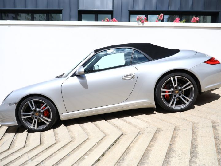 Porsche 997 PORSCHE 997 CARRERA 4S PDK CABRIOLET 3.8 385CV / FULL /PSE/ CHRONO / APPROVED 05:2022 Gris Gt - 2