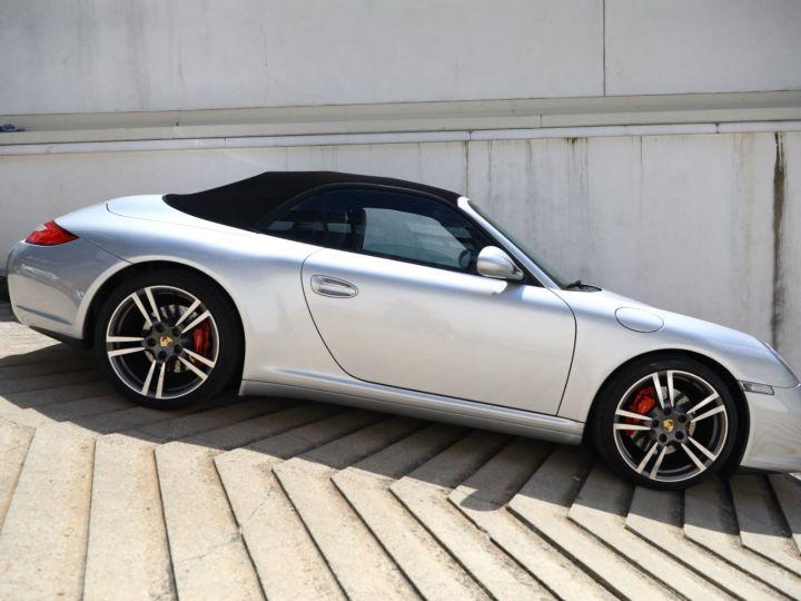 Porsche 997 PORSCHE 997 CARRERA 4S PDK CABRIOLET 3.8 385CV / FULL /PSE/ CHRONO / APPROVED 05:2022 Gris Gt - 3