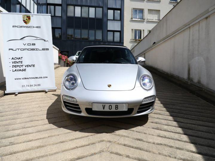 Porsche 997 PORSCHE 997 CARRERA 4S PDK CABRIOLET 3.8 385CV / FULL /PSE/ CHRONO / APPROVED 05:2022 Gris Gt - 5