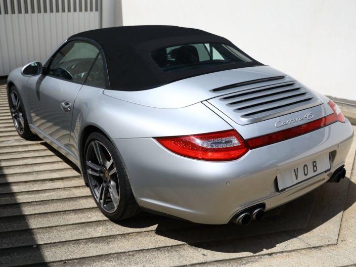 Porsche 997 PORSCHE 997 CARRERA 4S PDK CABRIOLET 3.8 385CV / FULL /PSE/ CHRONO / APPROVED 05:2022 Gris Gt - 7