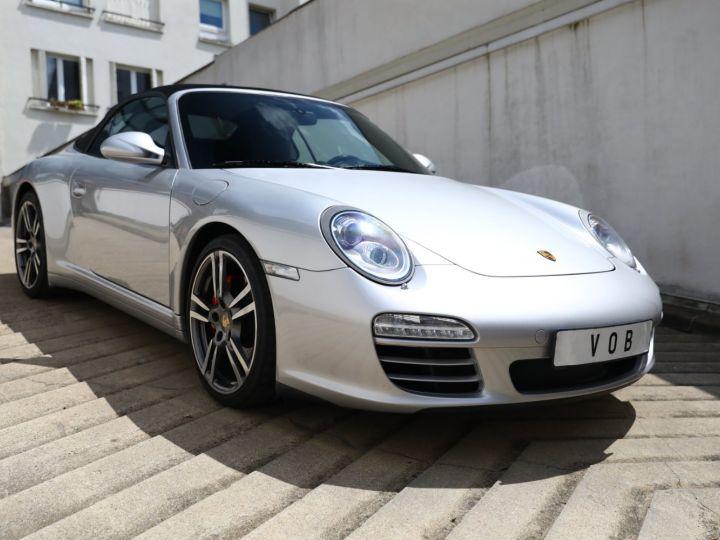 Porsche 997 PORSCHE 997 CARRERA 4S PDK CABRIOLET 3.8 385CV / FULL /PSE/ CHRONO / APPROVED 05:2022 Gris Gt - 9