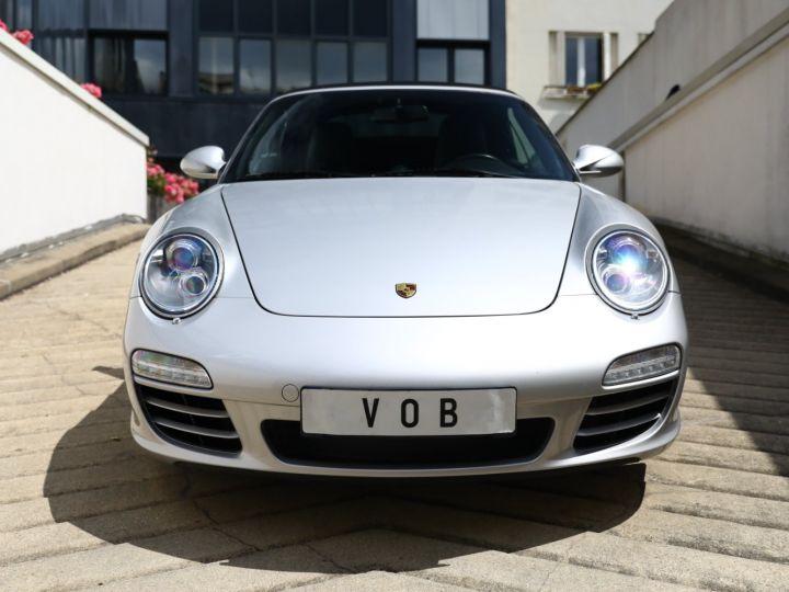 Porsche 997 PORSCHE 997 CARRERA 4S PDK CABRIOLET 3.8 385CV / FULL /PSE/ CHRONO / APPROVED 05:2022 Gris Gt - 10