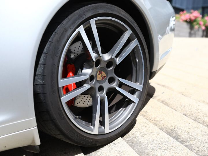 Porsche 997 PORSCHE 997 CARRERA 4S PDK CABRIOLET 3.8 385CV / FULL /PSE/ CHRONO / APPROVED 05:2022 Gris Gt - 16