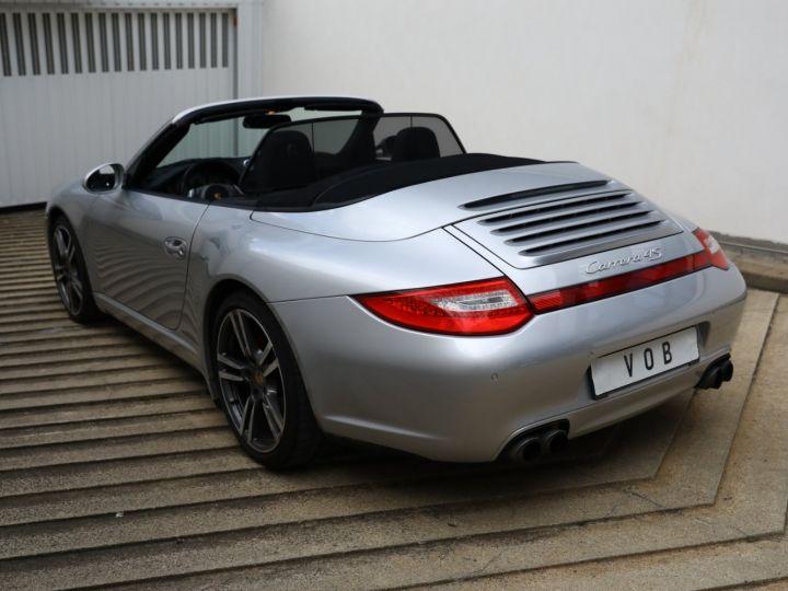 Porsche 997 PORSCHE 997 CARRERA 4S PDK CABRIOLET 3.8 385CV / FULL /PSE/ CHRONO / APPROVED 05:2022 Gris Gt - 11