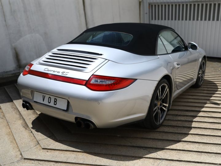 Porsche 997 PORSCHE 997 CARRERA 4S PDK CABRIOLET 3.8 385CV / FULL /PSE/ CHRONO / APPROVED 06:2022 Gris Gt - 8