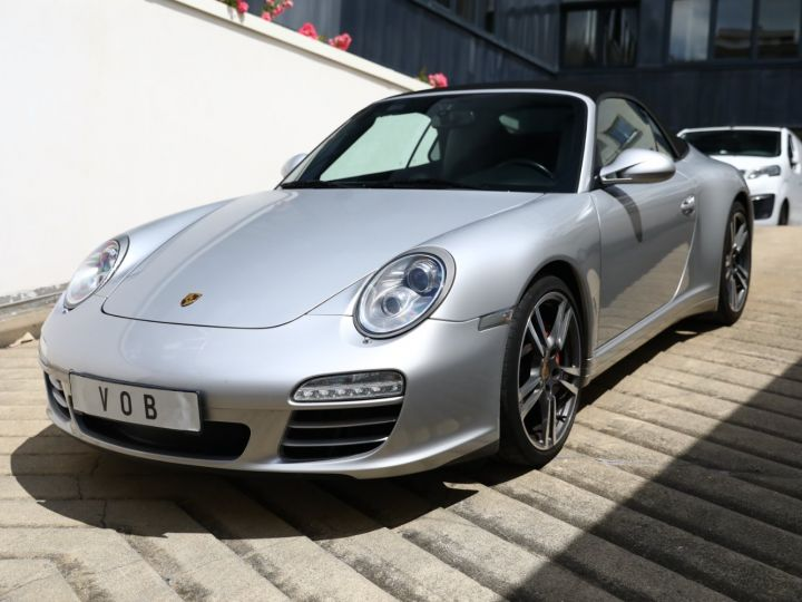 Porsche 997 PORSCHE 997 CARRERA 4S PDK CABRIOLET 3.8 385CV / FULL /PSE/ CHRONO / APPROVED 06:2022 Gris Gt - 1