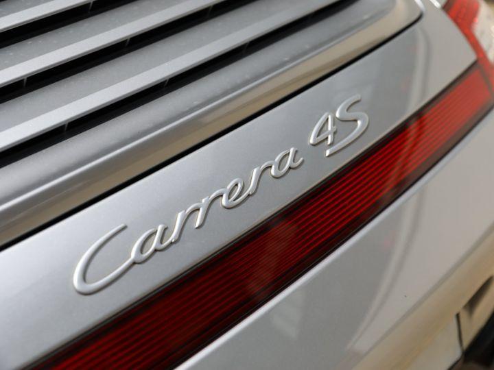 Porsche 997 PORSCHE 997 CARRERA 4S PDK CABRIOLET 3.8 385CV / FULL /PSE/ CHRONO / APPROVED 06:2022 Gris Gt - 19