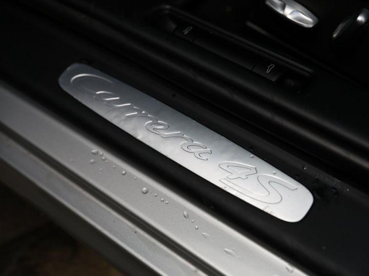 Porsche 997 PORSCHE 997 CARRERA 4S PDK CABRIOLET 3.8 385CV / FULL /PSE/ CHRONO / APPROVED 06:2022 Gris Gt - 25
