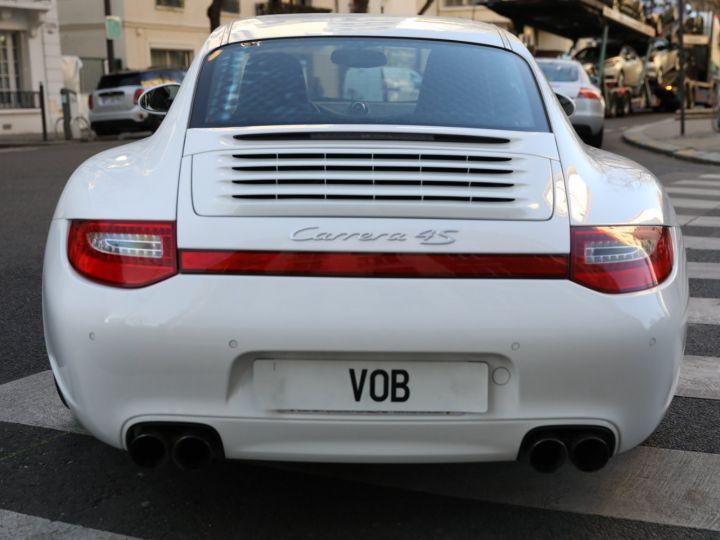 Porsche 997 PORSCHE 997 CARRERA 4S PDK /FULL /PSE/CHRONO / 39900 KMS Blanc - 5