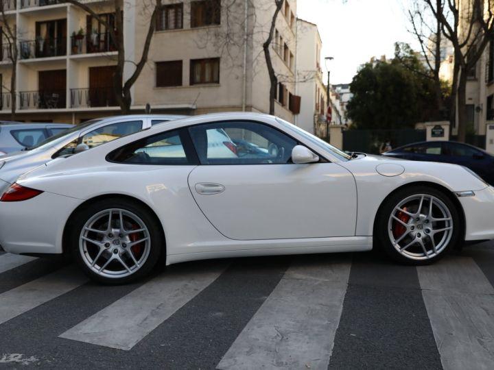 Porsche 997 PORSCHE 997 CARRERA 4S PDK /FULL /PSE/CHRONO / 39900 KMS Blanc - 7