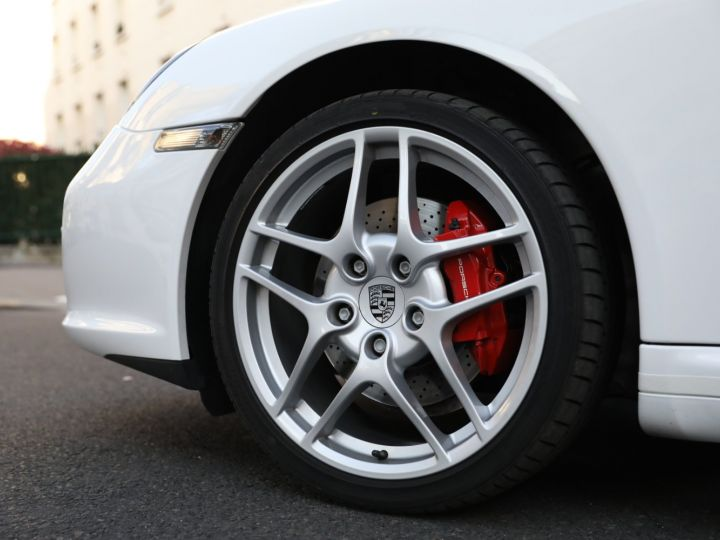 Porsche 997 PORSCHE 997 CARRERA 4S PDK /FULL /PSE/CHRONO / 39900 KMS Blanc - 12