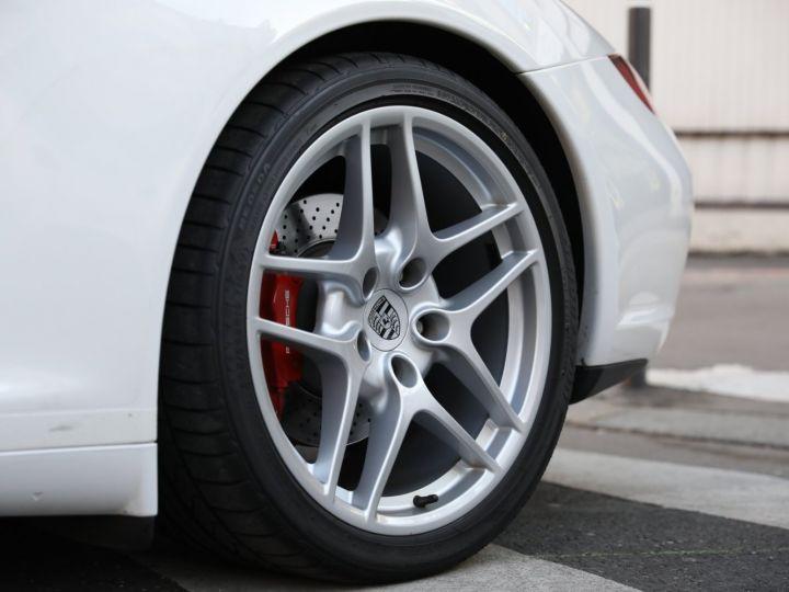 Porsche 997 PORSCHE 997 CARRERA 4S PDK /FULL /PSE/CHRONO / 39900 KMS Blanc - 13