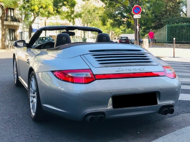 Porsche 997 PORSCHE 997 CARRERA CABRIOLET 4S PDK 3.8 385CV Gris Gt - 2