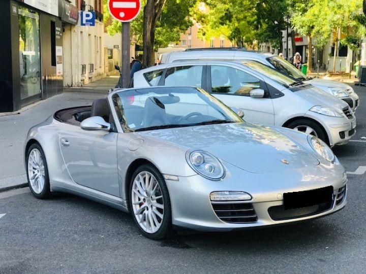 Porsche 997 PORSCHE 997 CARRERA CABRIOLET 4S PDK 3.8 385CV Gris Gt - 3