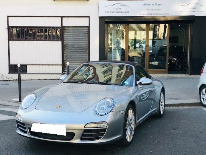 Porsche 997 PORSCHE 997 CARRERA CABRIOLET 4S PDK 3.8 385CV Gris Gt - 5