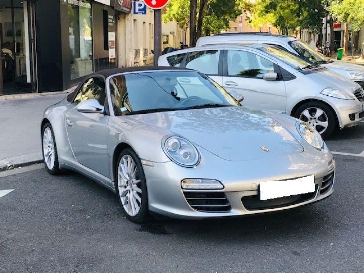 Porsche 997 PORSCHE 997 CARRERA CABRIOLET 4S PDK 3.8 385CV Gris Gt - 8