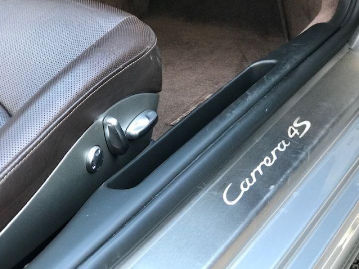 Porsche 997 PORSCHE 997 CARRERA CABRIOLET 4S PDK 3.8 385CV Gris Gt - 18