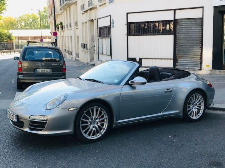 Porsche 997 PORSCHE 997 CARRERA CABRIOLET 4S PDK 3.8 385CV Gris Gt - 15