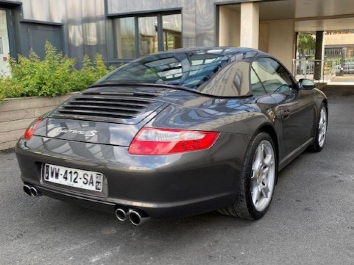 Porsche 997 PORSCHE 997 CARRERA S 3.8 355CV 2007 CABRIOLET Gris Pierre - 3