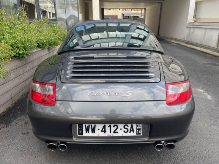 Porsche 997 PORSCHE 997 CARRERA S 3.8 355CV 2007 CABRIOLET Gris Pierre - 4