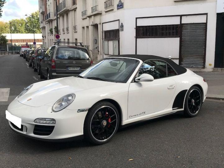 Porsche 997 PORSCHE 997 GTS CABRIOLET PDK 408CV Blanc - 1