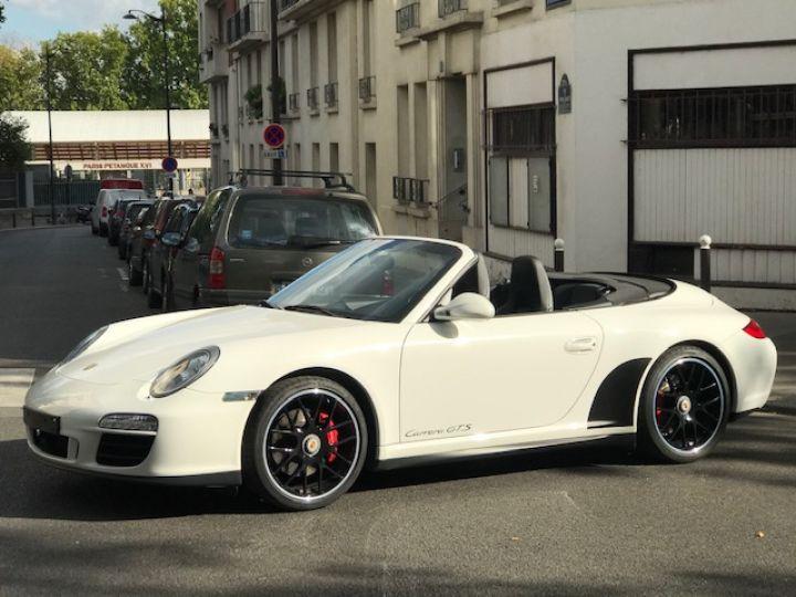 Porsche 997 PORSCHE 997 GTS CABRIOLET PDK 408CV Blanc - 6