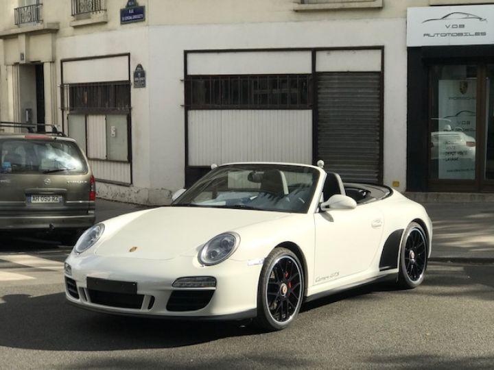 Porsche 997 PORSCHE 997 GTS CABRIOLET PDK 408CV Blanc - 7