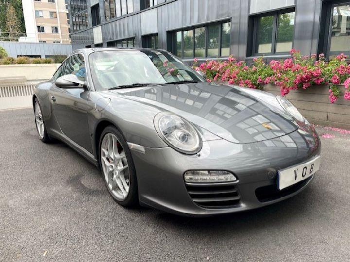 Porsche 997 PORSCHE 997 TARGA 4S 3.8 385CV BVM /1ERE MAIN / 162000 KMS /SUIVI COMPLET Gris Meteor - 2